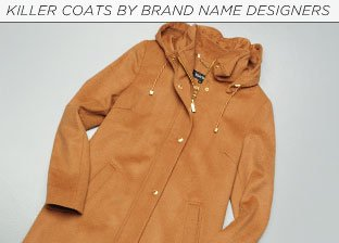 Killer Coats by Brand Name Designers