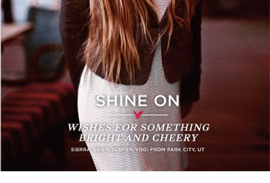 Shine On | Wishes For Something Bright And Cheery | Sierra, Skier/Surfer/Yogi From Park City, UT