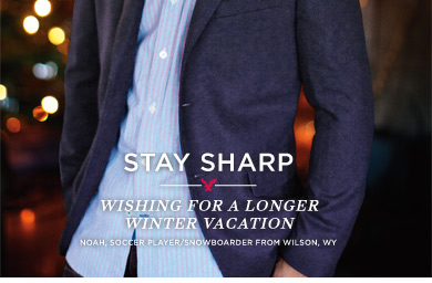 Stay Sharp | Wishing For A Longer Winter Vacation | Noah, Soccer Player/Snowboarder From Wilson, WY