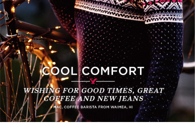 Cool Comfort | Wishing For Good Times, Great Coffee, And New Jeans | Mac, Coffee Barista From Waimea, HI