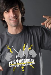 It's Throsday, Let's Get Hammered