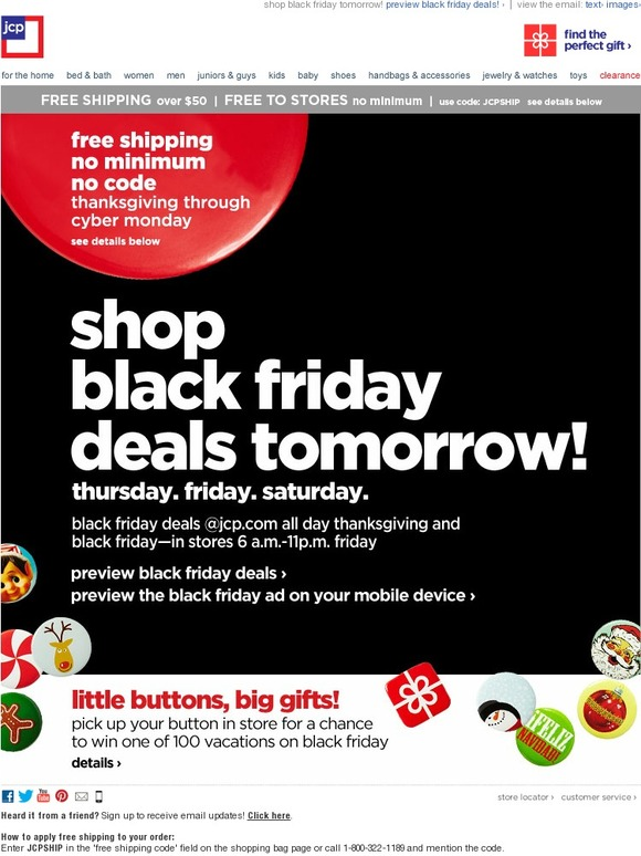 JC Penney: Preview Black Friday Deals | Milled