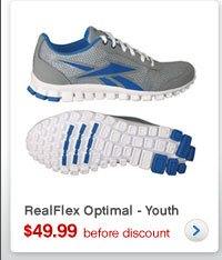 RealFlex Optimal – Youth | $49.99 before discount