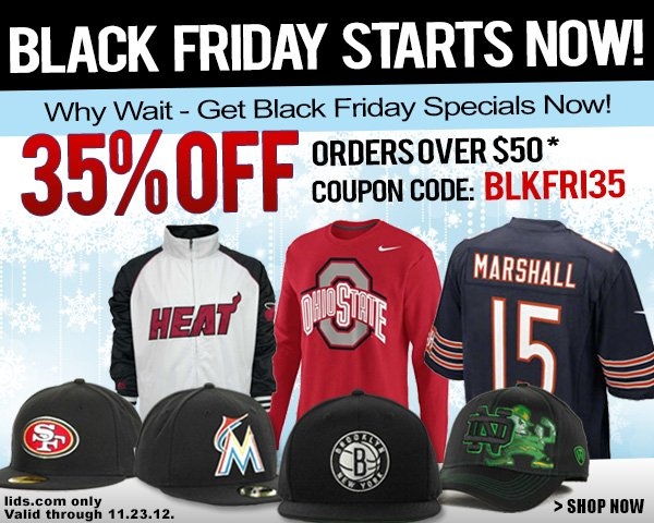 35% Off an order of $50 or more
