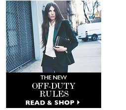THE NEW OFF-DUTY RULES READ&SHOP