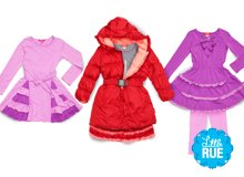 One Kid Girls' Outerwear & Clothing