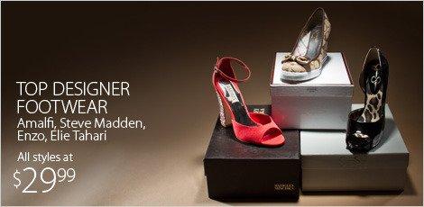Top Designer Footwear Amalfi. Steve Madden, enzo, Elie Tahari