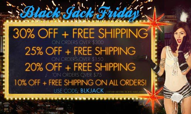 Save 30% on Black Jack Friday