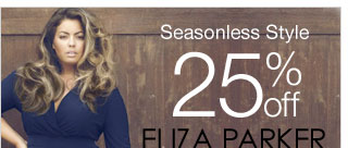 Seasonless Style 25% off Eliza Parker