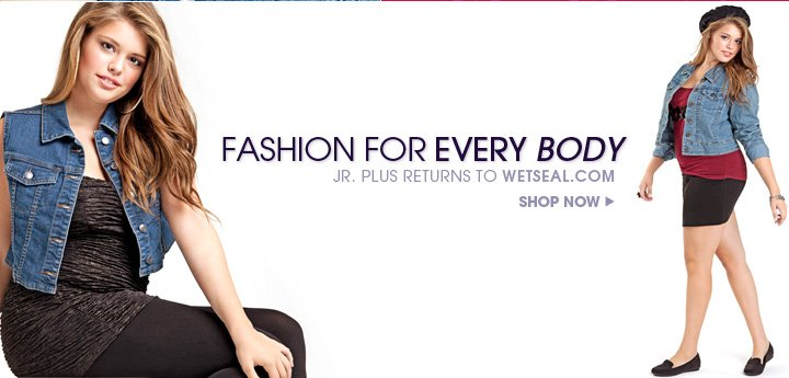 Fashion For Every Body - Shop Jr. Plus