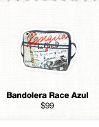 Bandolera Race Azul