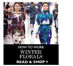 HOW TO WORK WINTER FLORALS READ&SHOP