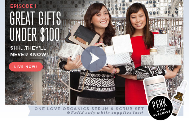 Great Gifts Under $100 - Shh...They'll Never Know!