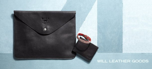 WILL LEATHER GOODS, Event Ends November 24, 9:00 AM PT >