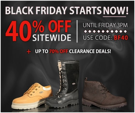 Black Friday Starts Now: Get 40% off Limited hrs only