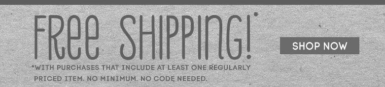 free shipping shopnow