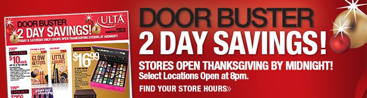Preview Our 2 Day Doorbuster Ad Now!
