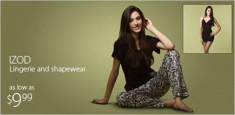Izod Lingerie and Shapewear