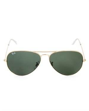 Perfect For Him or Her: Ray Ban Large Aviator Sunglasses