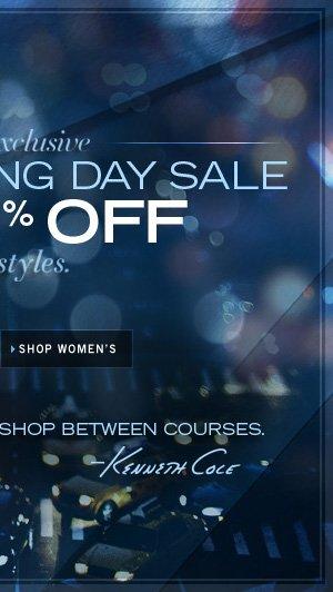 20-50% Off Select Styles / SHOP WOMEN'S