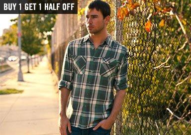 Shop Season's Best Wovens & Flannels