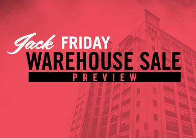 Shop Warehouse Sale: Jack Friday Preview