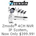 Zmodo 4CH NVR IP System. Now Only $399.99!