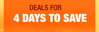 deals for 4 DAYS TO SAVE