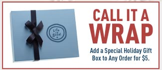 Add a Special Holiday Gift Box to Any Order for $5