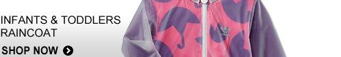 Shop Infants & Toddlers Raincoat  »