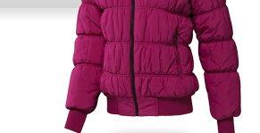 Shop Faux Fur-Trimmed Padded Jacket  »