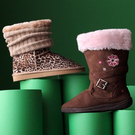 In Step: Faux Fur Boots