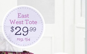 East West Tote $29.99