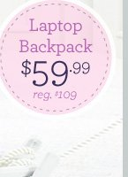 Laptop Backpack $59.99