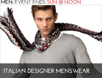 ITALIAN DESIGNER MENSWEAR