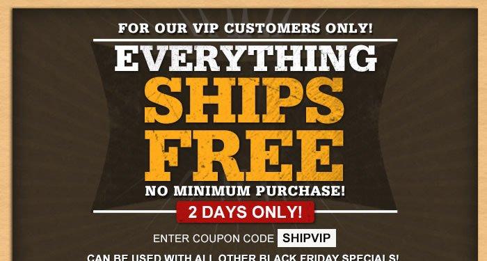 Everything Ships Free