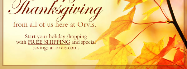 Start your haoliday shopping with FREE SHIPPING and special savings at orvis.com.