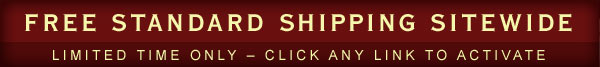 Free standard shipping sitewide. Limited time only - click any link to activate.