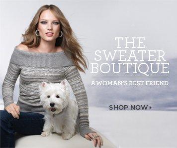 The Sweater Boutique: A Woman's Best Friend Shop Now