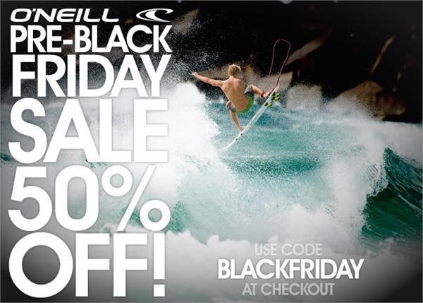 O'Neill Pre-Black Friday Sale!