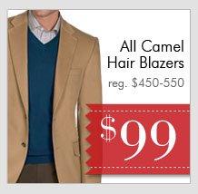Camel Hair Blazers - $99 USD