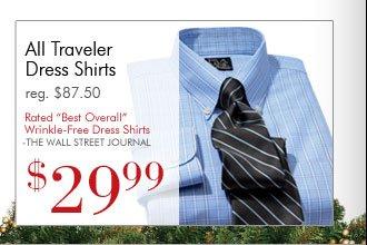Traveler Dress Shirts - $29.99 USD