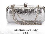 Metallic box bag