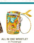 All-In-One Wristlet in Provencal