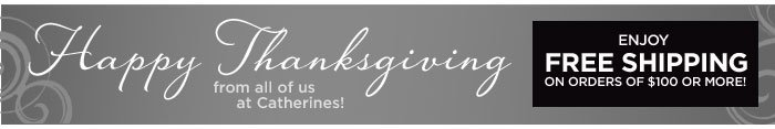 Happy Thanksgiving! Enjoy Free Shipping On Orders Of $100 Or More!