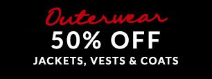 All Outerwear 50% Off