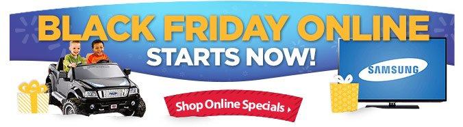 Shop Online Specials