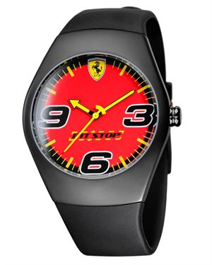 Ferrari Pitstop Watch Made In Switzerland