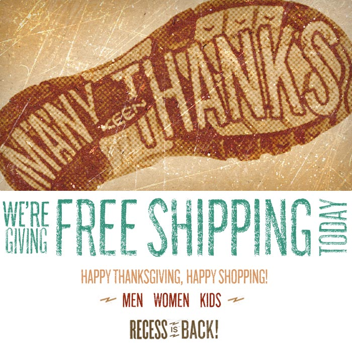 Many Thanks, Happy Thanksgiving from KEEN.