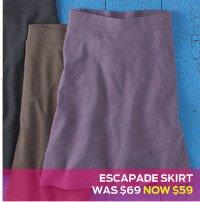 Escapade Skirt >